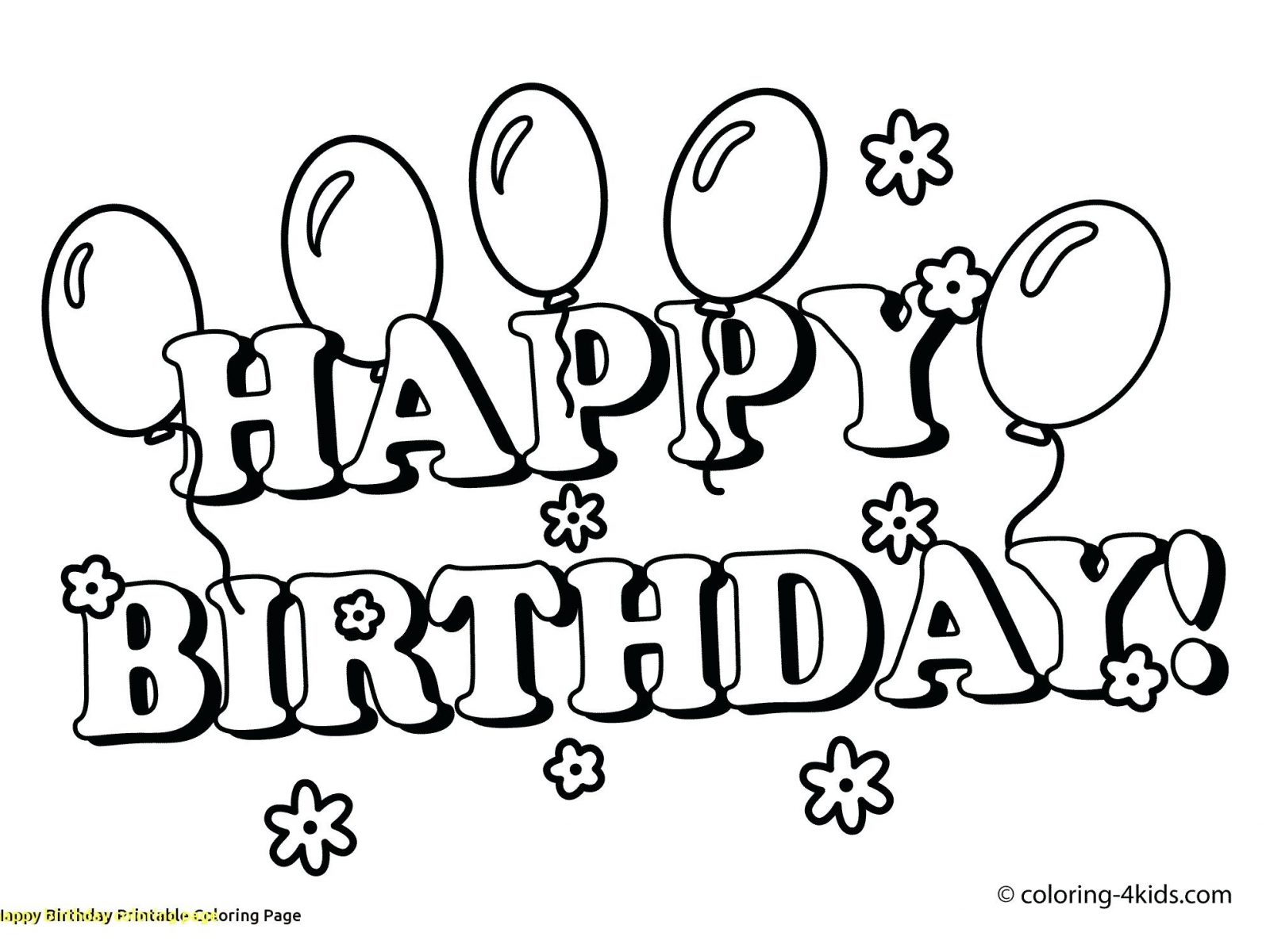 1600x1200 Happy Birthday Mom Coloring Page Best Happy Birthday Wishes
