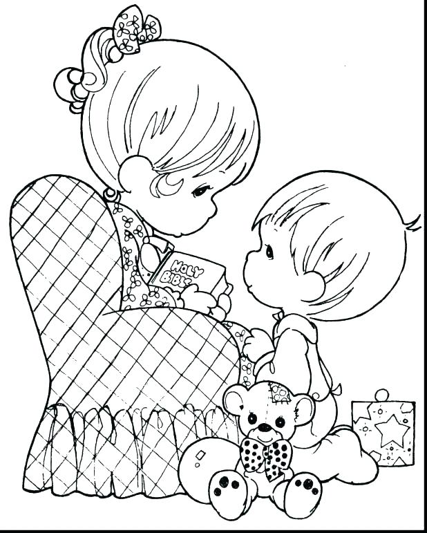 618x771 Mom Coloring Page Mom Coloring Page Happy Birthday Mommy Coloring