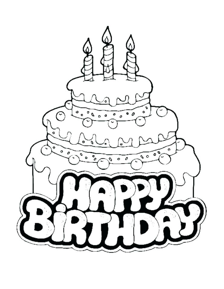 742x960 Coloring Pages Happy Birthday Grandpa Happy Birthday Mom Coloring