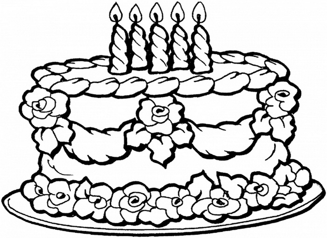 1048x764 Happy Birthday Coloring Page Lovely Happy Birthday Mom Coloring