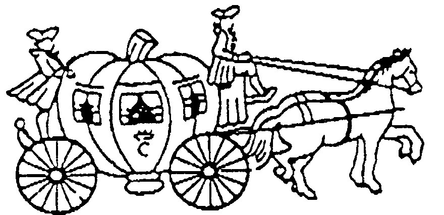 Horse And Buggy Coloring Pages