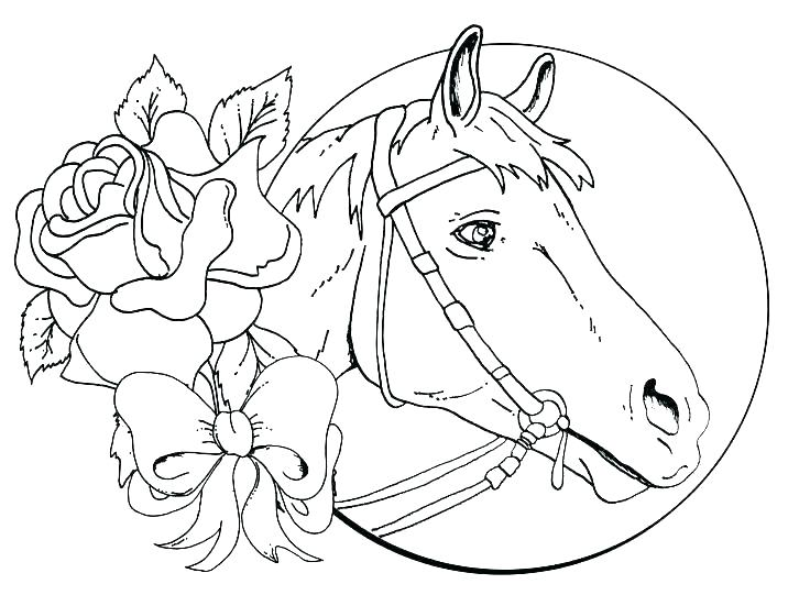 Horse And Carriage Coloring Pages