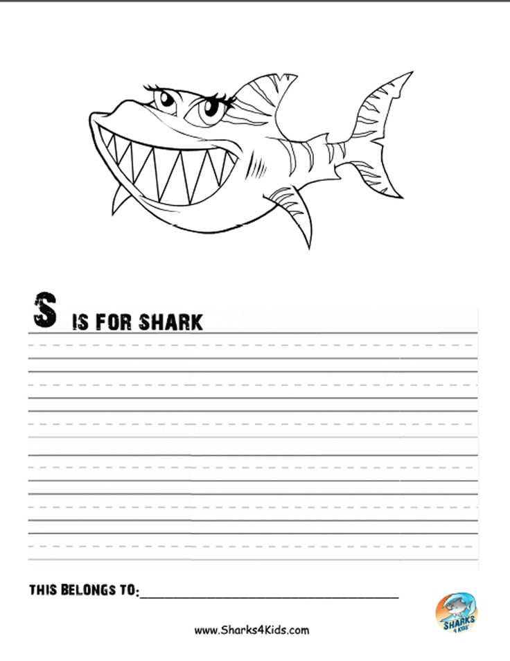 Hungry Shark Evolution Coloring Pages