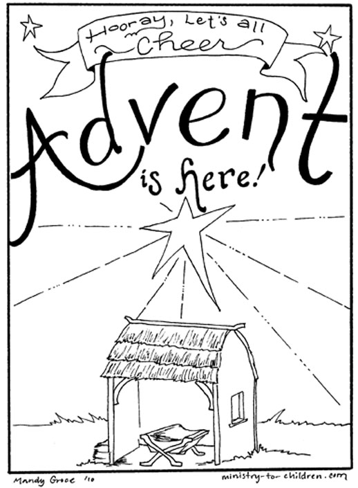 Jesus Christmas Coloring Pages