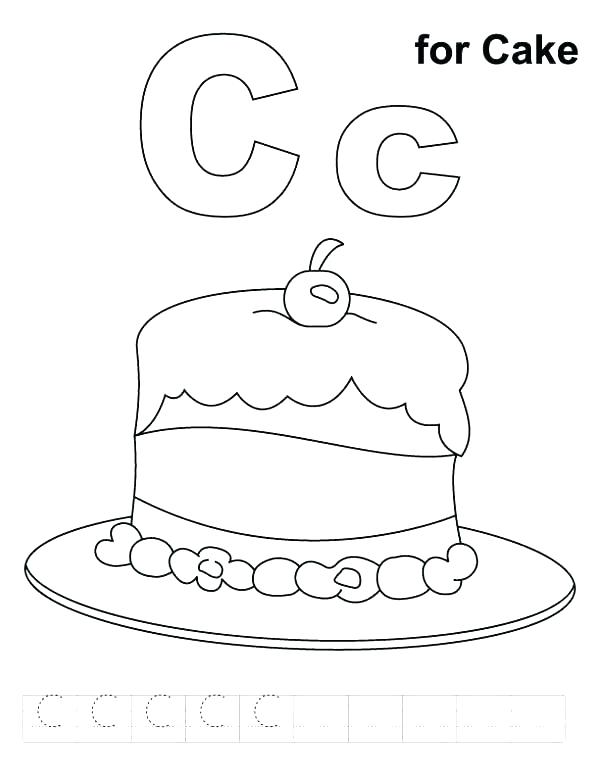 Letter C Coloring Pages For Toddlers At Getcolorings Com Free