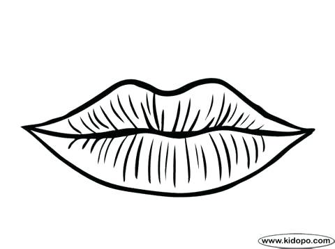 Lip Gloss Coloring Pages At GetColorings