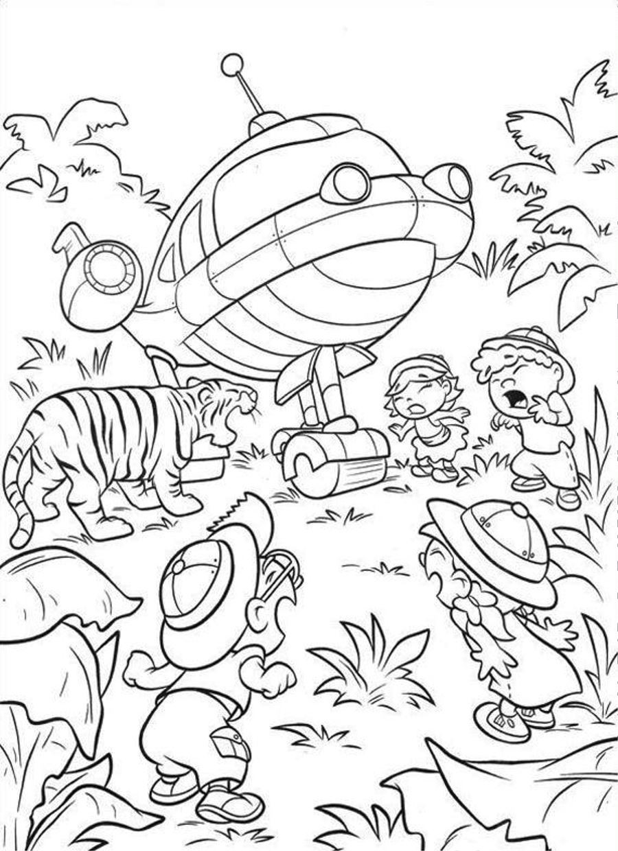 Little Einsteins Coloring Pages Free Printable