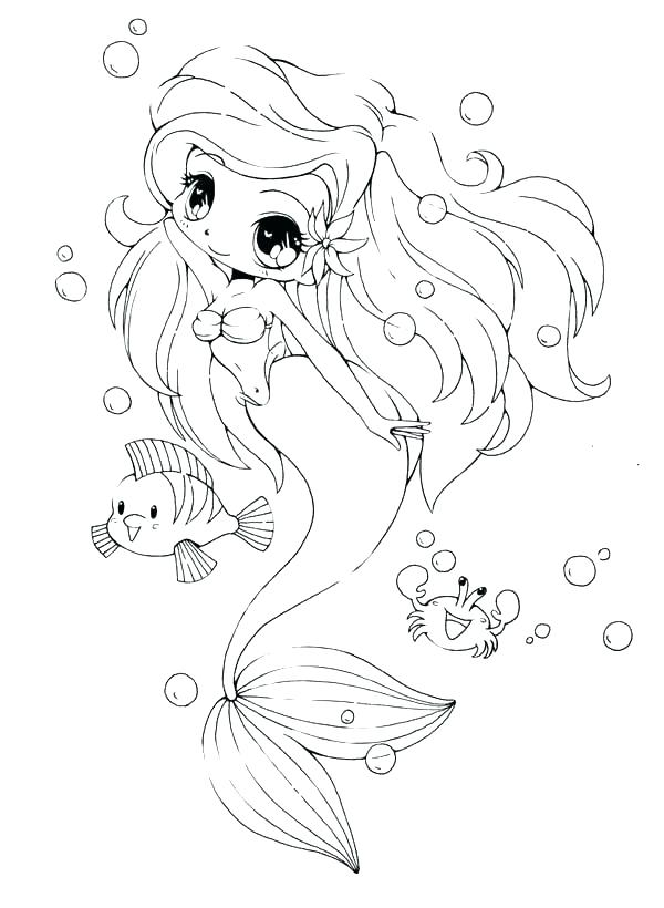 600x820 Realistic Coloring Pages Love Realistic Mermaid Coloring Pages
