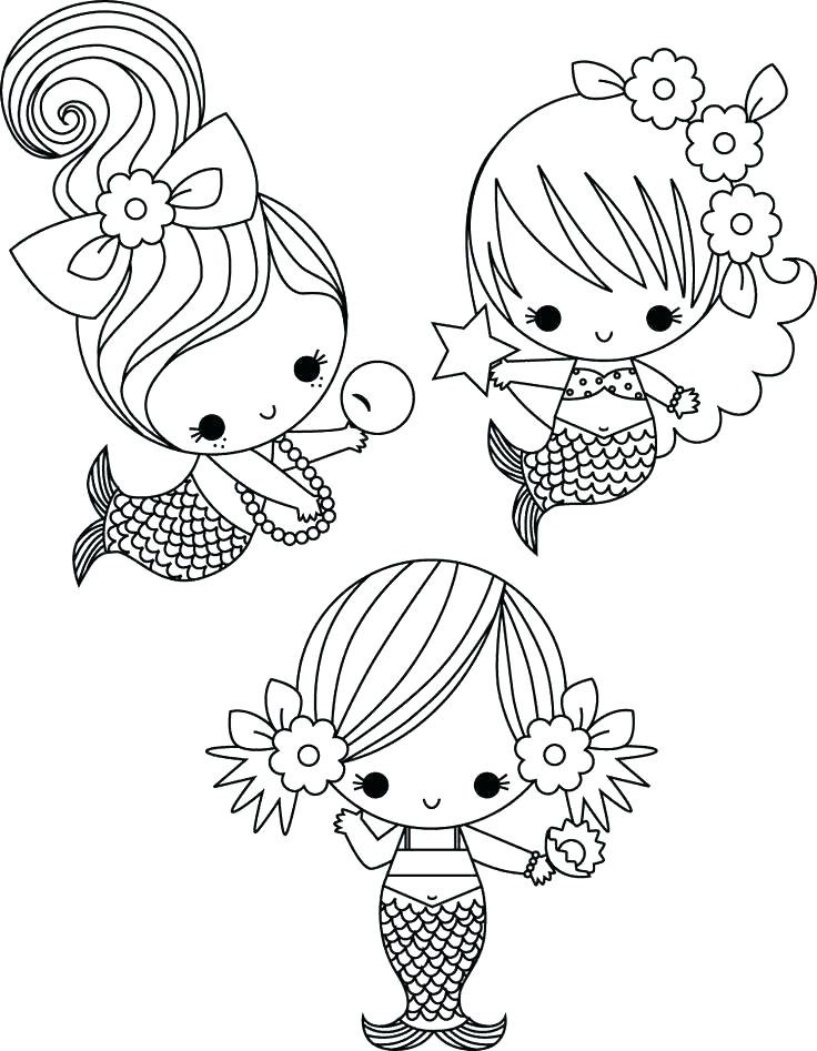 736x947 Mermaid Coloring Pages Realistic Vanda