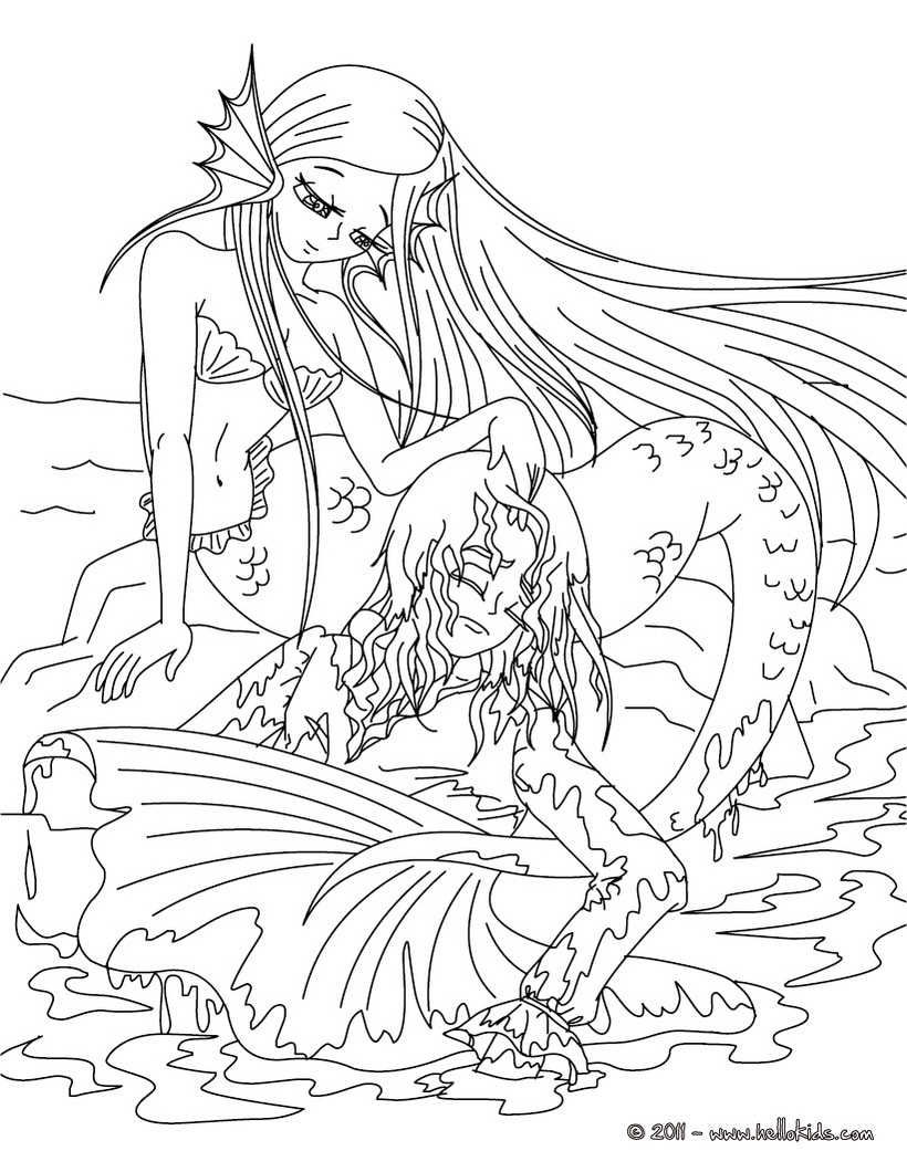820x1060 Best Of The Little Mermaid Tale Coloring Page Mermaids Free