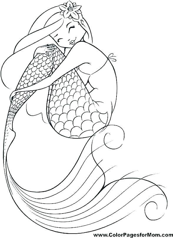 588x808 Coloring Pages Barbie Mermaid Coloring Pages Printable Free
