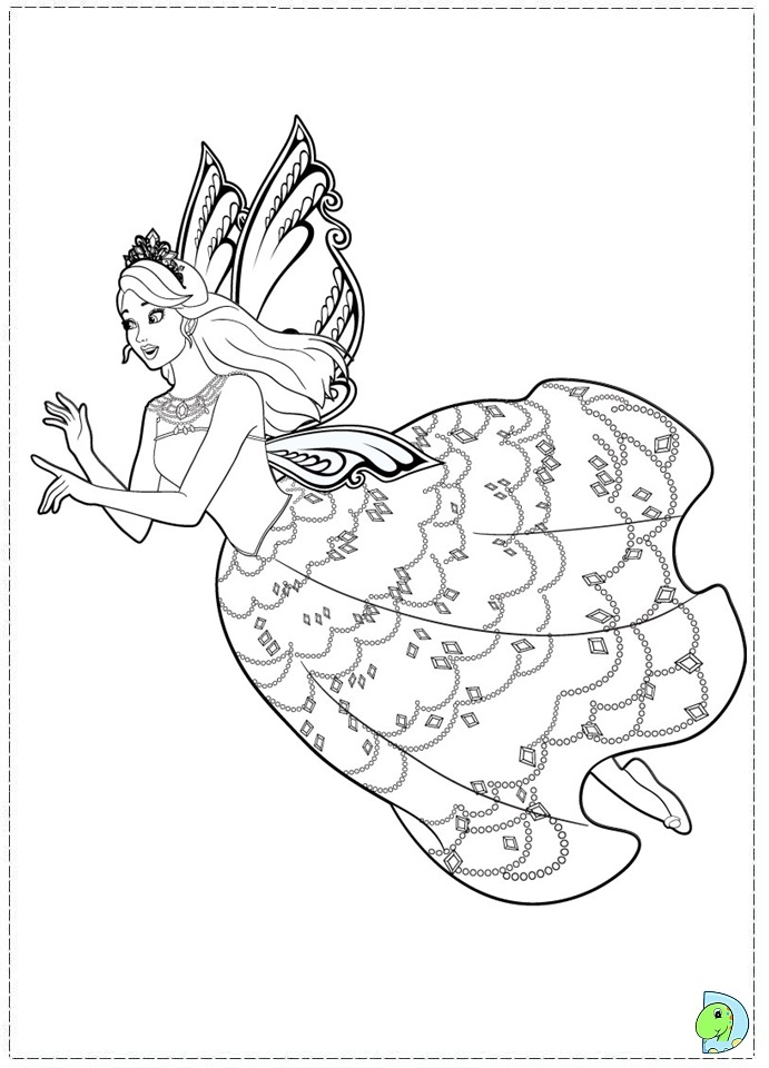 691x960 Mermaid Fairy Princess Coloring Pages
