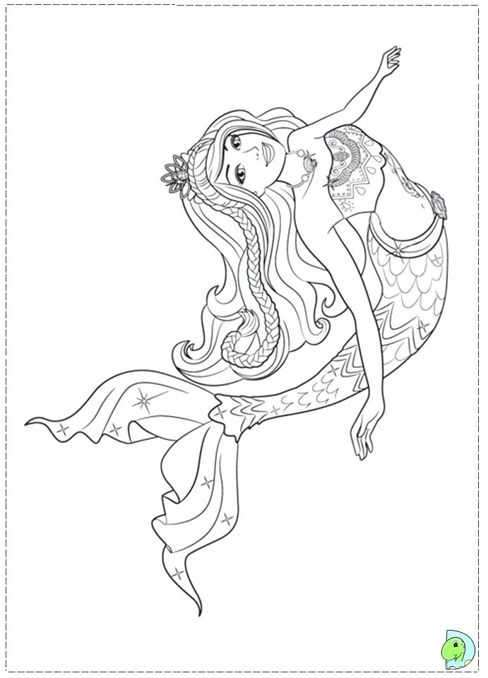 691x960 Barbie Pictures To Color Or Mermaid Princess Coloring Pages Frank
