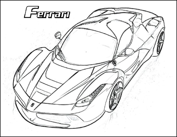 Mitsubishi Eclipse Coloring Pages