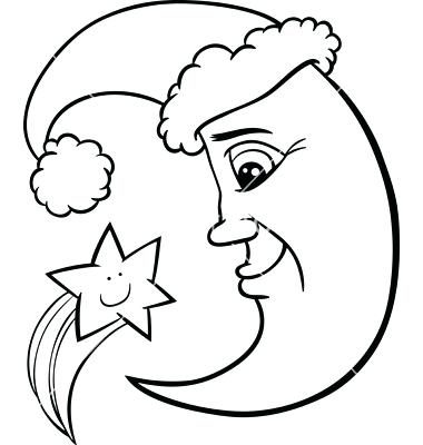 380x400 Amazing Moon Coloring Pages For Preschoolers Diy Coloring Page