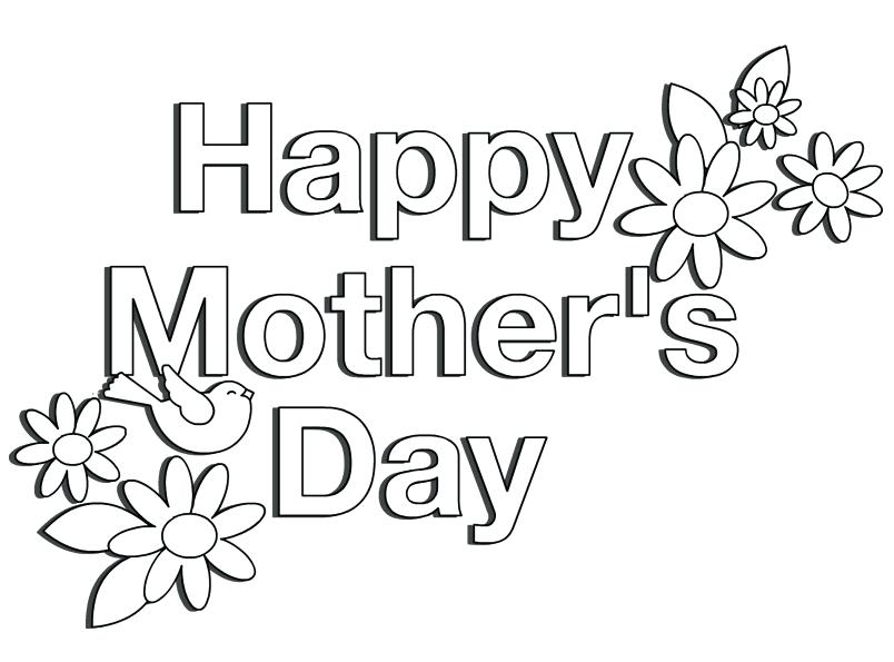 804x595 Happy Mothers Day Coloring Pages Happy Coloring Pages Happy