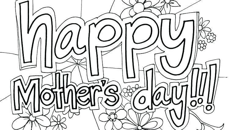 750x425 Happy Mothers Day Coloring Pages Happy Mothers Day Coloring Pages