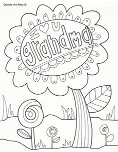 236x305 Happy Mothers Day Grandma Coloring Pages Reader Bee Free