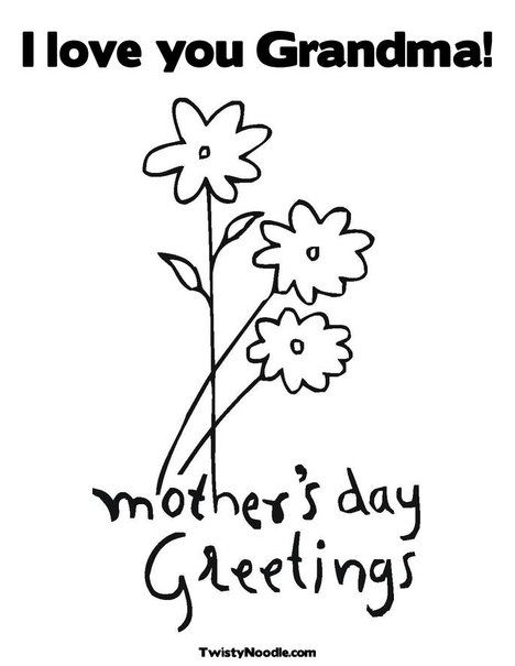 468x605 Mother's Day Coloring Page I Will Suvive Mothers Day Crafts