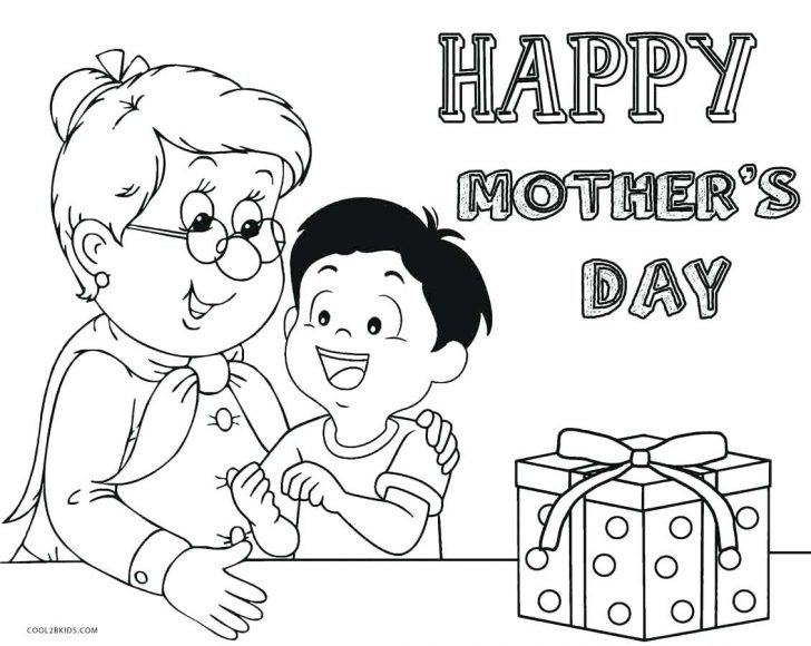 728x580 Mothers Day 2015 Coloring Sheets Printable Page A Pages For Free