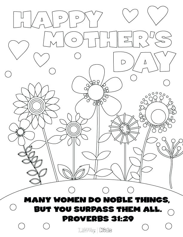 612x792 Mothers Day Coloring Pages Happy Mothers Day Coloring Pages