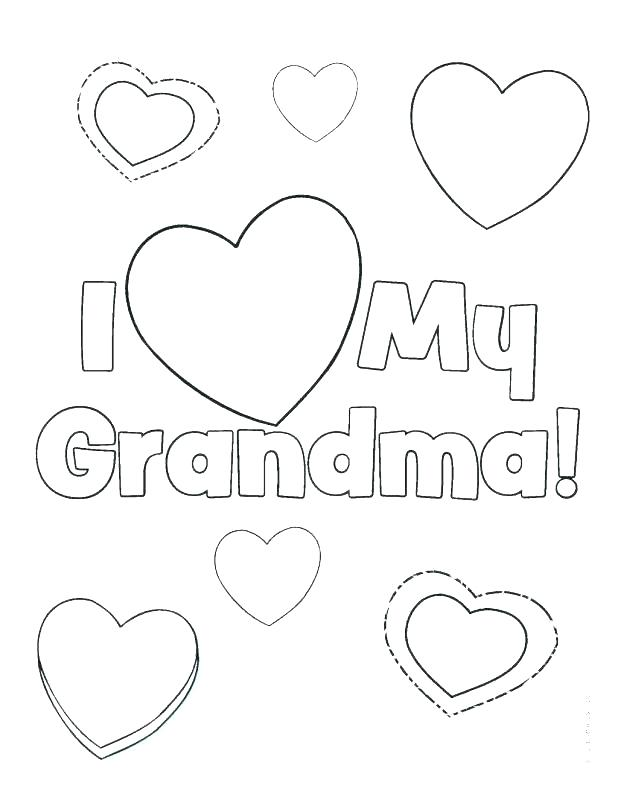 618x800 Happy Grandparents Day Coloring Pages