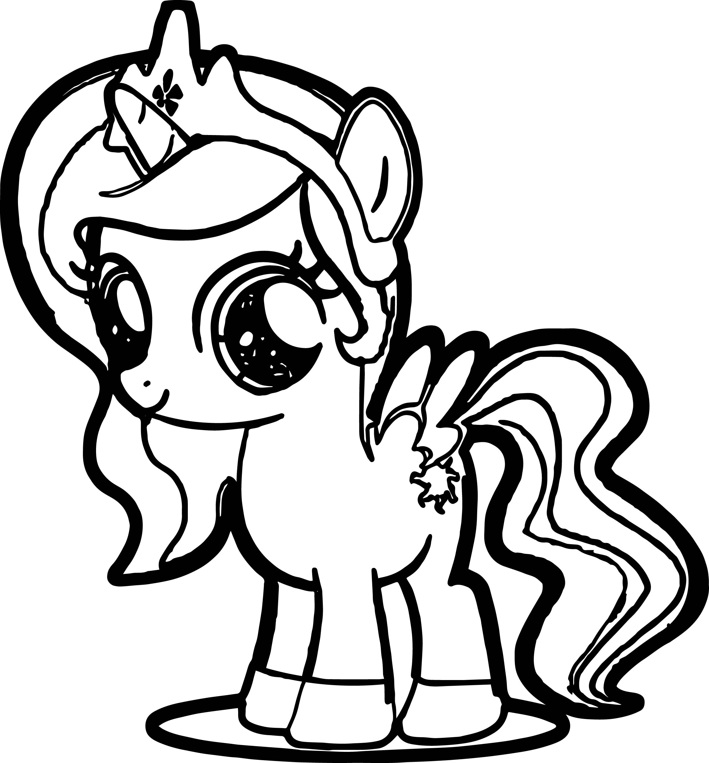 Mlp coloring pages fillies horses ~ My Little Pony Coloring Pages Princess Luna Filly at ...