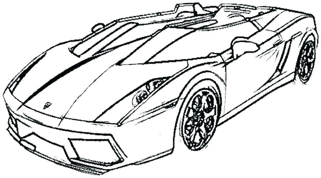 New Car Coloring Pages