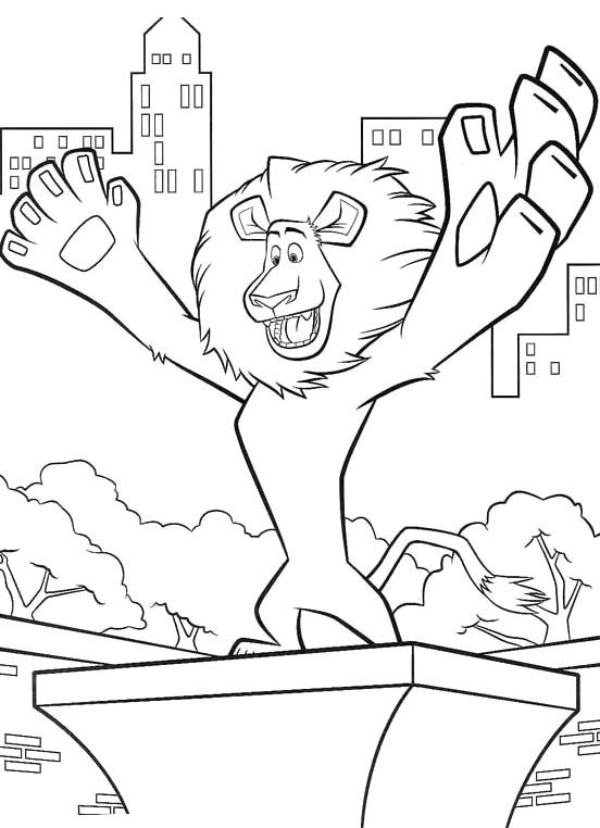 New York City Skyline Coloring Pages