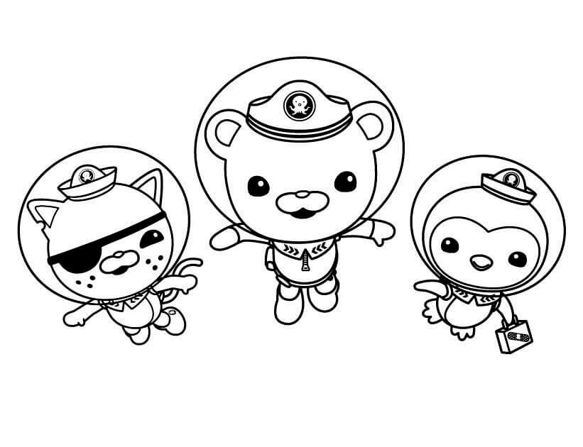 Octonauts Octopod Coloring Pages At Getcolorings Com Free