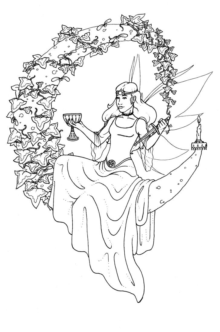 Pagan Coloring Pages For Adults