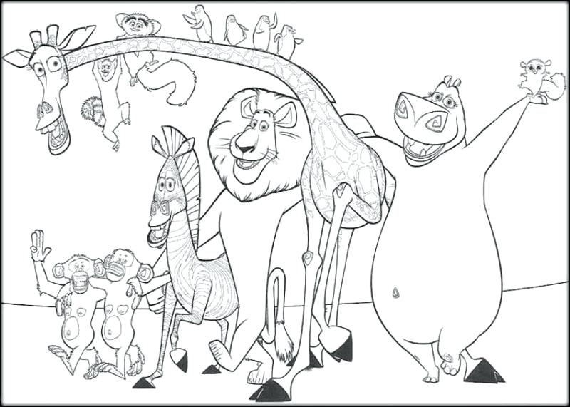 800x571 Madagascar Coloring Pages Excellent Coloring Pages Free Download
