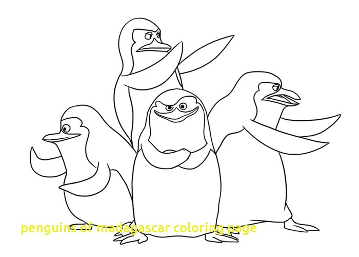 700x500 Penguins Of Madagascar Coloring Page With Top 10 Free Printable