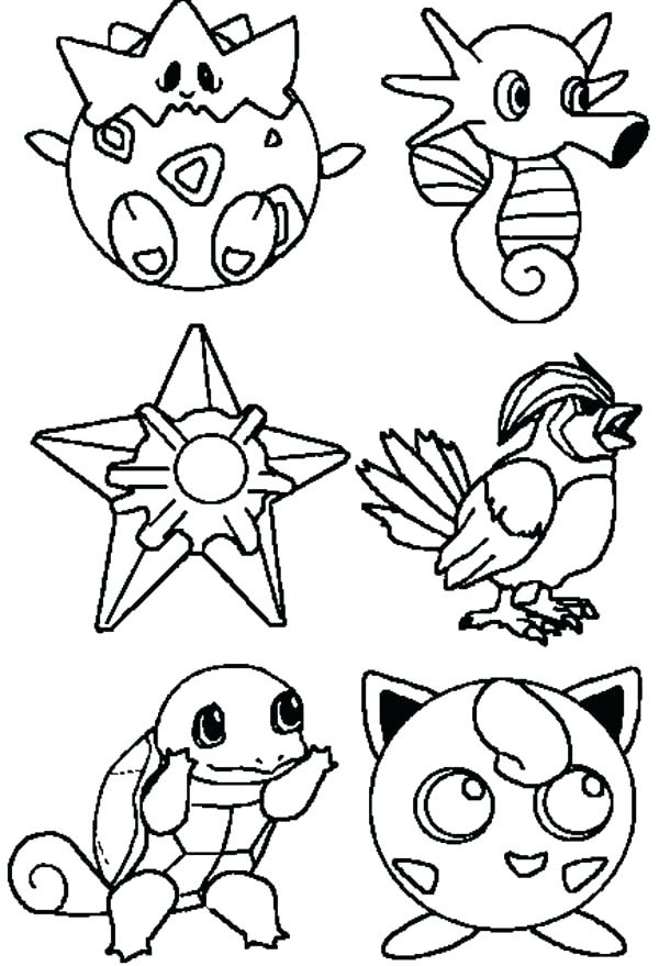 600x879 Free Printable Coloring Pages Pokemon Black White Printable