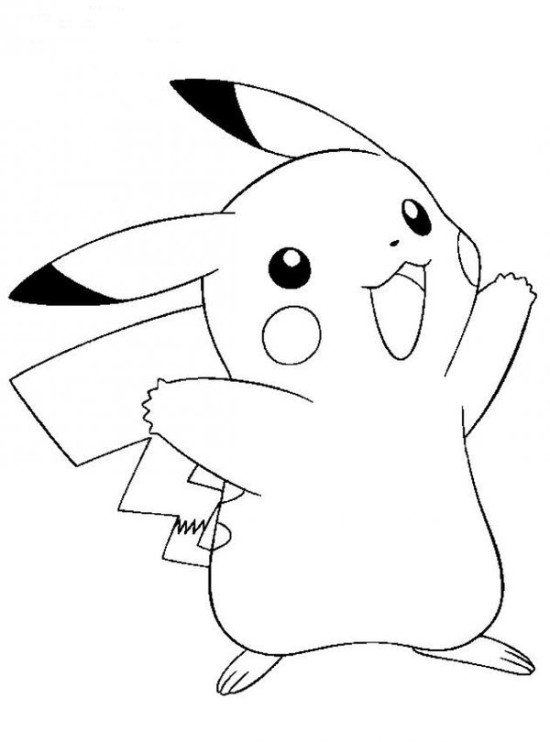 550x742 Pokemon Black And White Coloring Pages 5