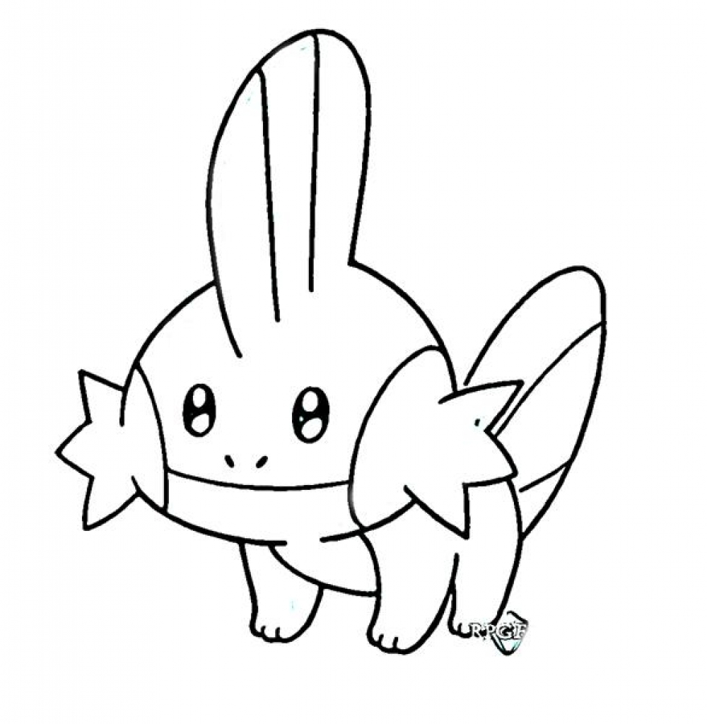1000x1024 Pokemon Clipart Black And White