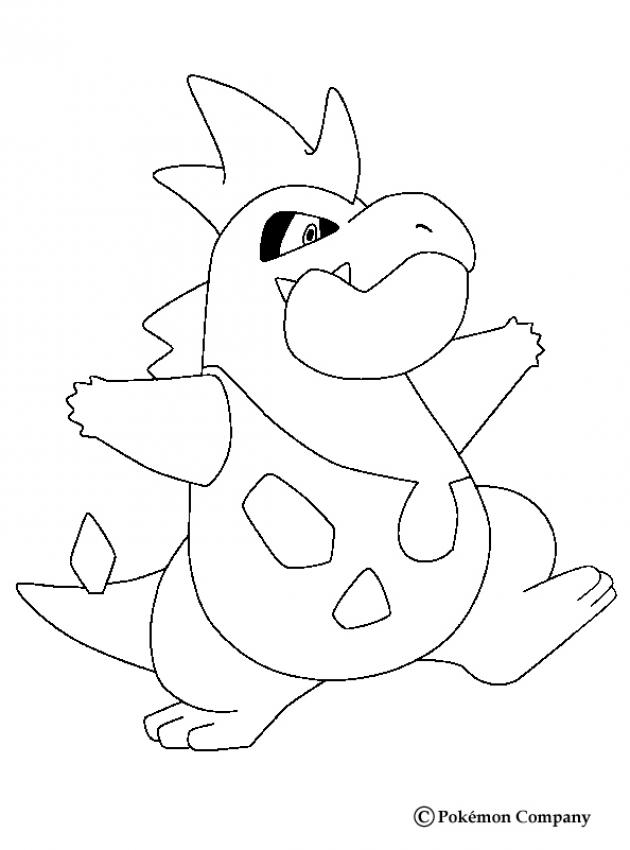 630x850 Dragon Type Pokemon Coloring Pages