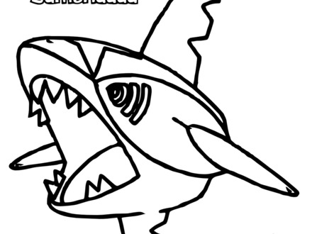 440x330 Free Pokemon Mega Mudkip Coloring Pages, Mudkip Coloring Pages