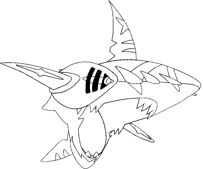 Pokemon Mega Evolution Coloring Pages