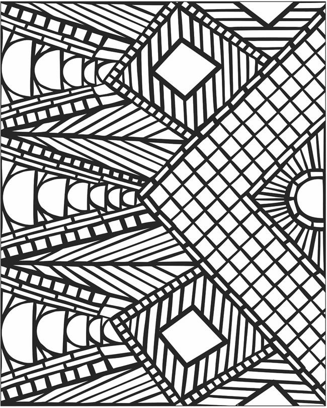 650x809 Am Luxury Mosaic Coloring Pages To Print