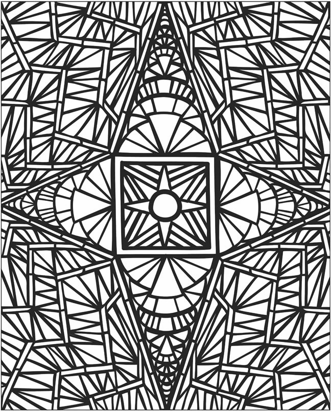 650x806 Mosaic Coloring Pages To Print Mosaics Coloring Pages Mosaic