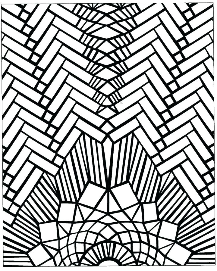 720x900 Printable Mosaic Coloring Pages Mosaic Coloring Pages Free