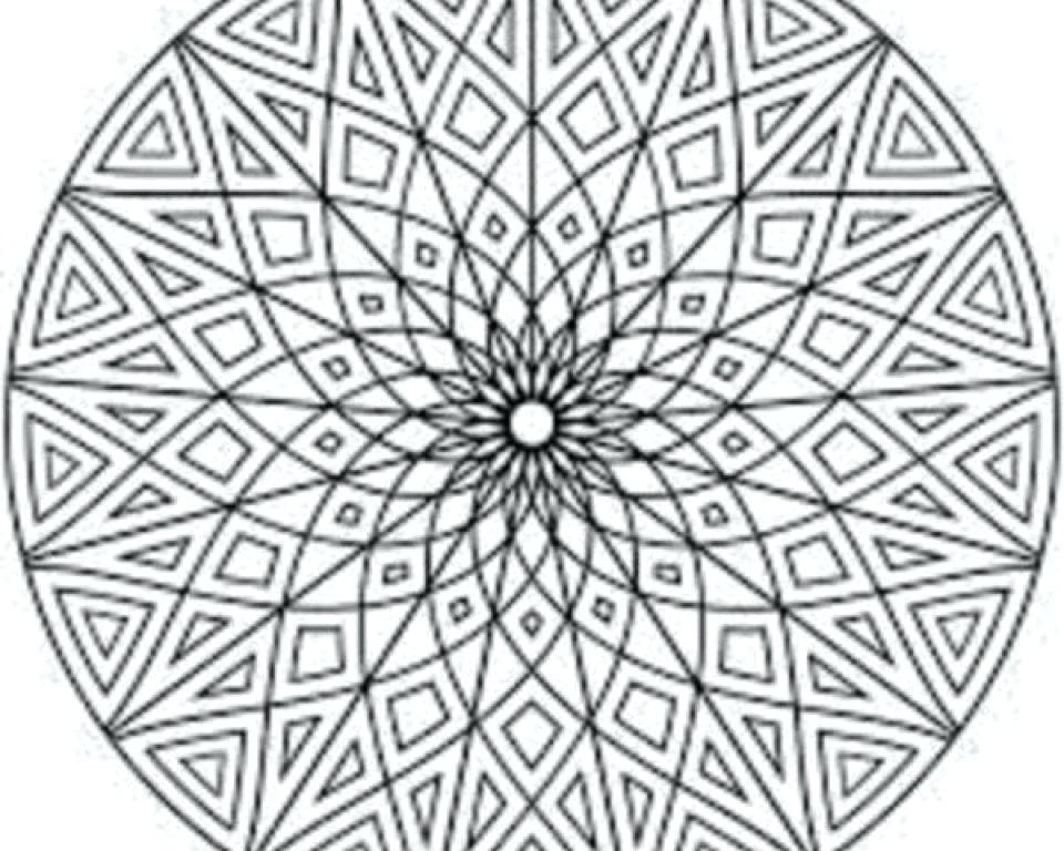 960x768 Printable Mosaic Coloring Pages Mosaic Coloring Pages To Print