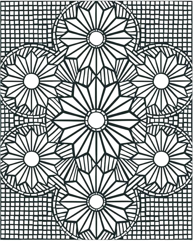 770x960 Printable Mosaic Coloring Pages Roman Coloring Pages Roman