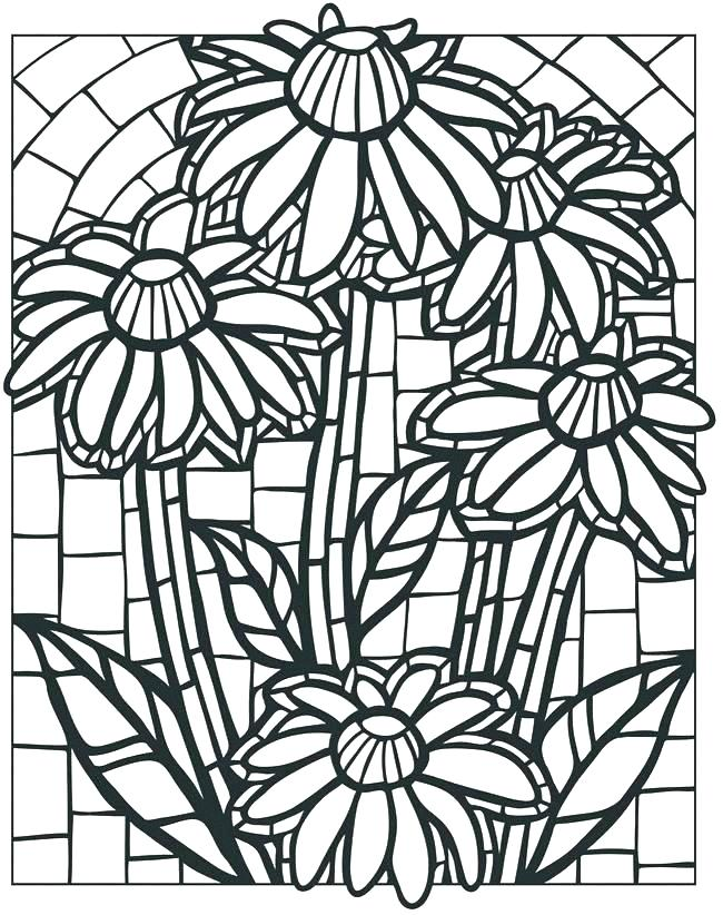 650x822 Printable Roman Mosaic Coloring Pages Free Mosaic Coloring Pages