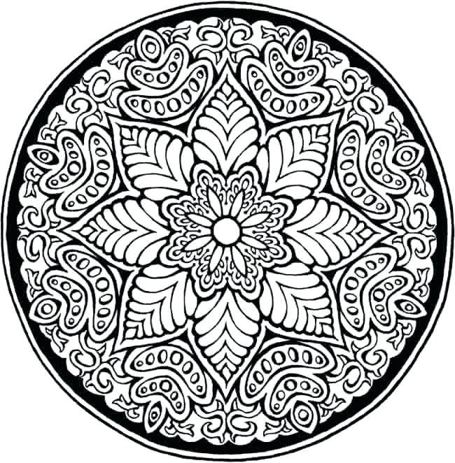 650x662 Mosaic Coloring Pages For Adults Free Printable Mosaic Coloring