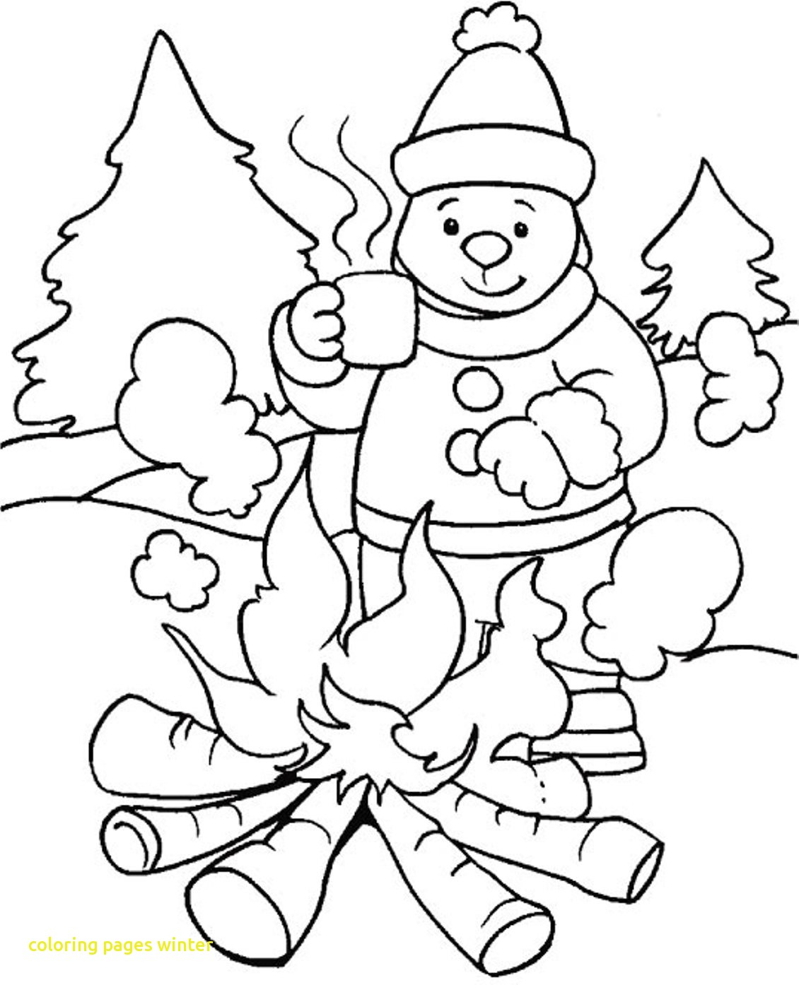 Printable Winter Coloring Pages For Kids at GetColorings.com | Free ...