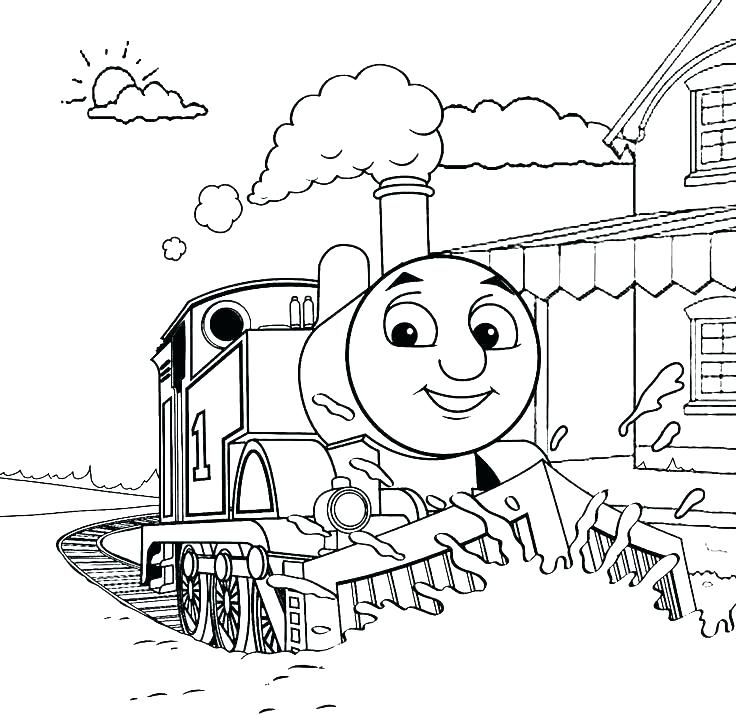 Railroad Coloring Pages at GetColorings.com | Free printable ...