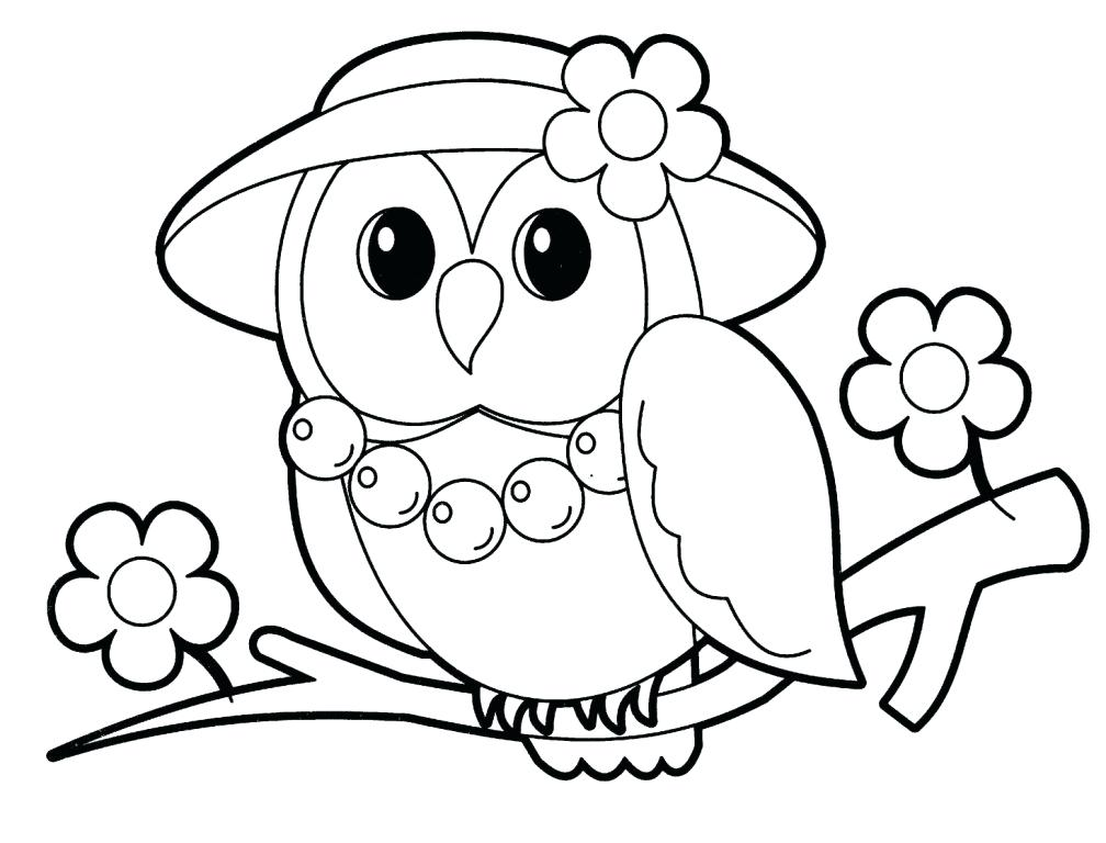 Realistic Animal Coloring Pages To Print