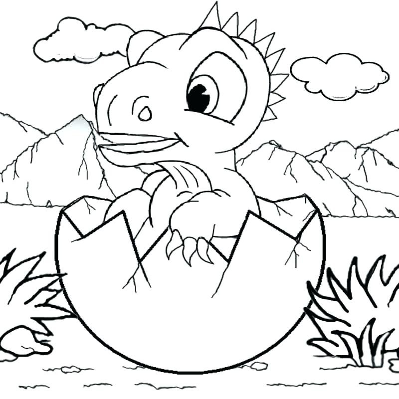 Realistic Dinosaurs Coloring Pages